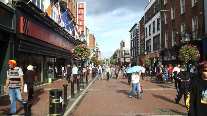 Ireland Steps up for walking