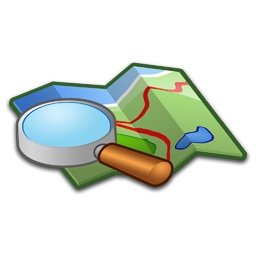 Pathways map search icon